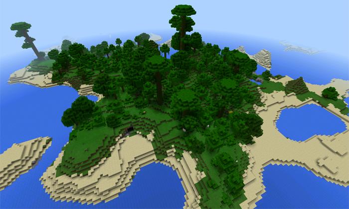 minecraft big island seed 1.14
