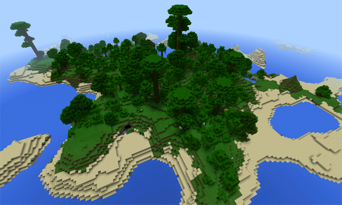 Realistic Jungle Island Minecraft Project