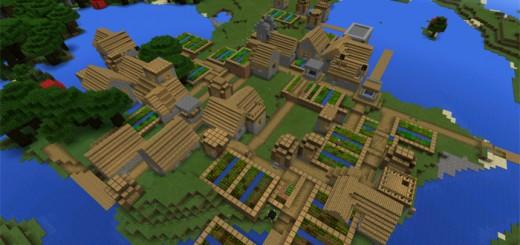 minecraft 1.8 9 seeds village spawn