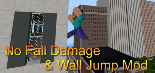 No Fall Damage & Wall Jump Mod