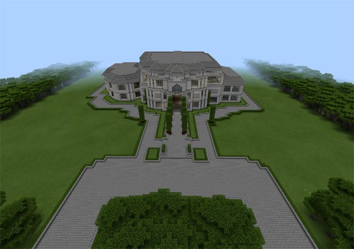 Presidential Mansion [Creation]   Minecraft PE Maps