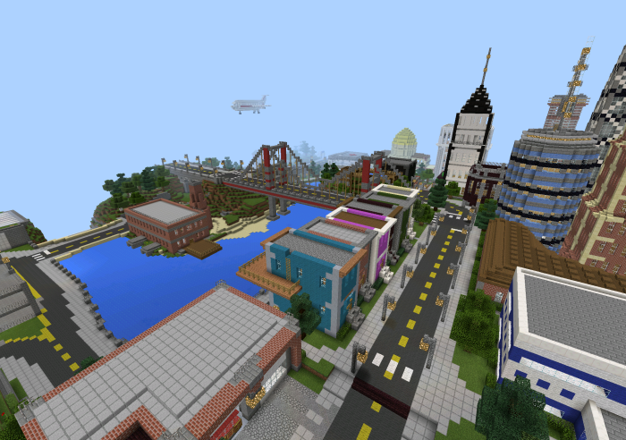 town maps for minecraft pe