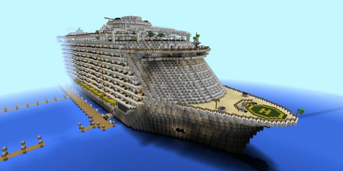 Oasis of the Seas [Creation] | Minecraft PE Maps