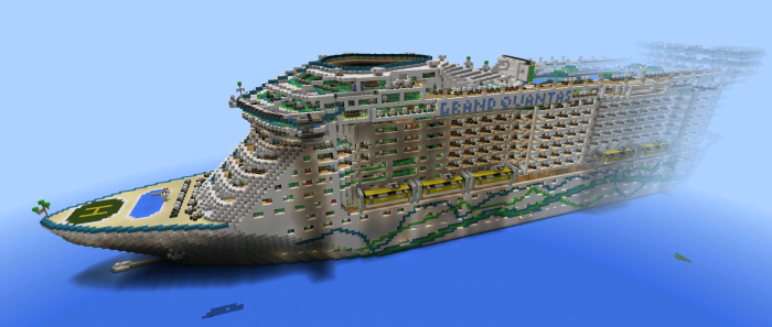 Oasis Of The Seas [Creation] | Minecraft PE Maps