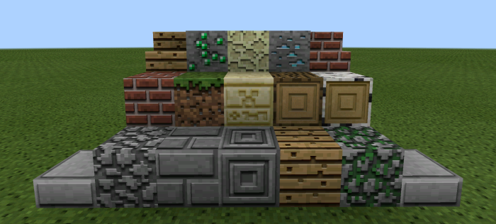 3D Textures [64×64] | Minecraft PE Texture Packs