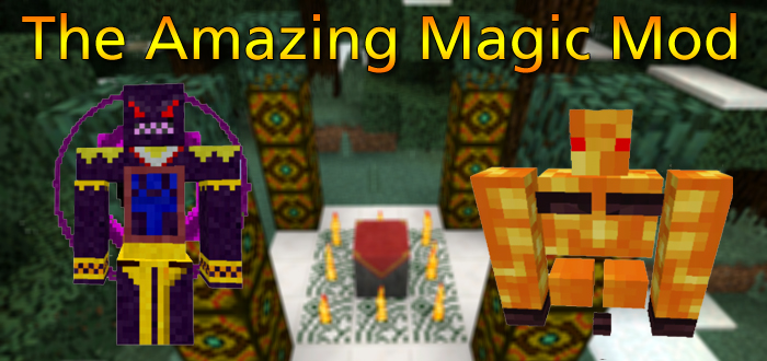 The Amazing Magic Mod Minecraft PE Mods Addons