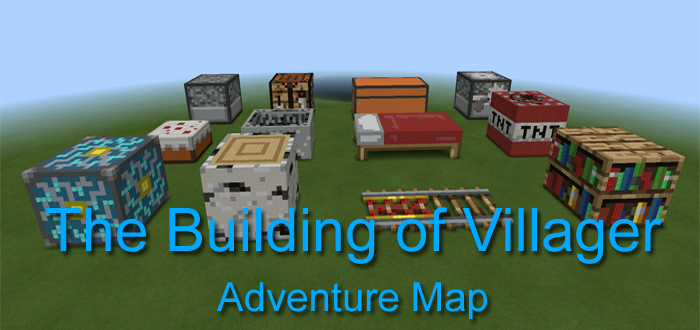 The Building of Villager [Adventure] | Minecraft PE Maps