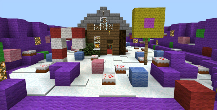 minecraft oitc map candyland
