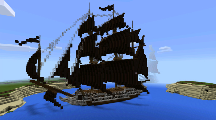pirate ship maps minecraft