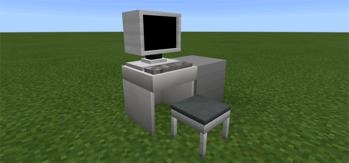 how to make furniture in minecraft pe no mods