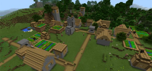 -1547993543: Five Villages At Spawn