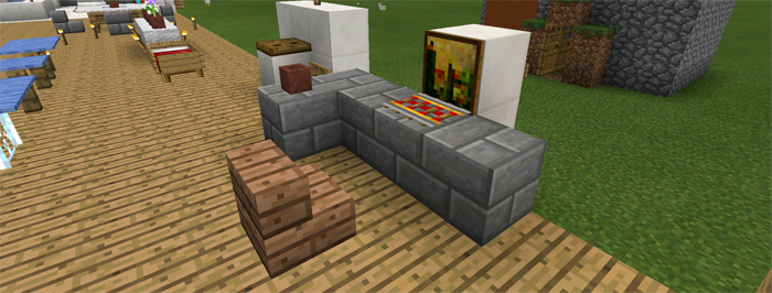 Minecraft Pe Furniture furniture ideas [creation] | minecraft pe maps