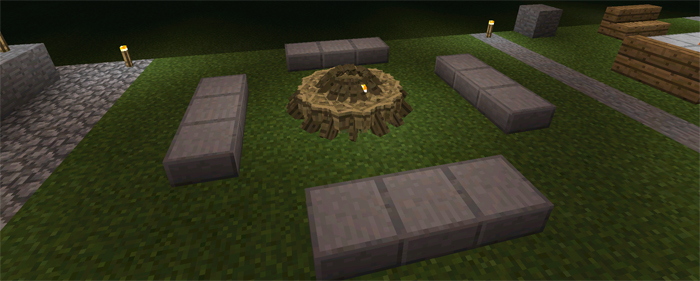 Furniture Ideas Creation Minecraft PE Maps - Cool minecraft furniture ideas