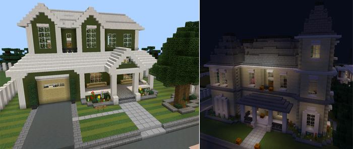 Ghost City Creation Minecraft PE Maps