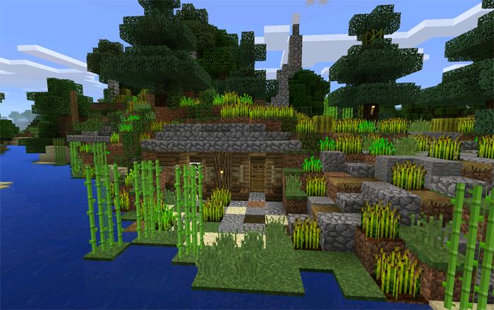hobbit house survival minecraft pe maps