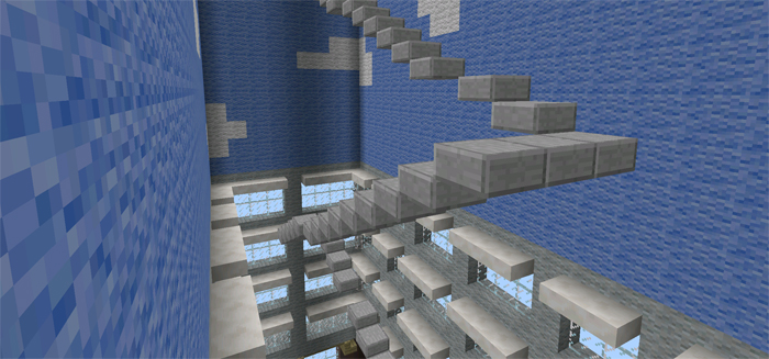 how to create stairs in minecraft