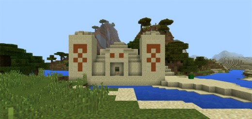 -729102268: Amazing Temple in Front of Spawn