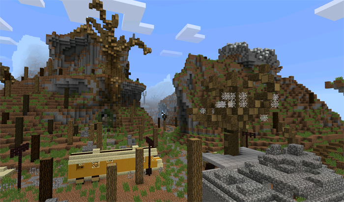 adventure map minecraft windows 10