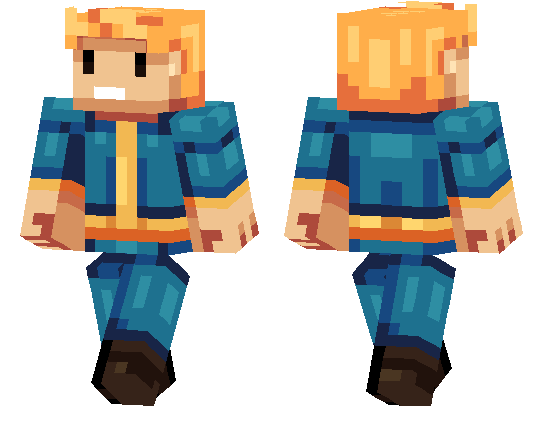Boy With Hoodie Skin Minecraft Layout – Billy Knight