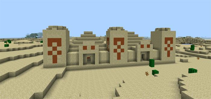 Empire massive temple with 34 gold ingots minecraft pe seeds massivetemple4 publicscrutiny Gallery