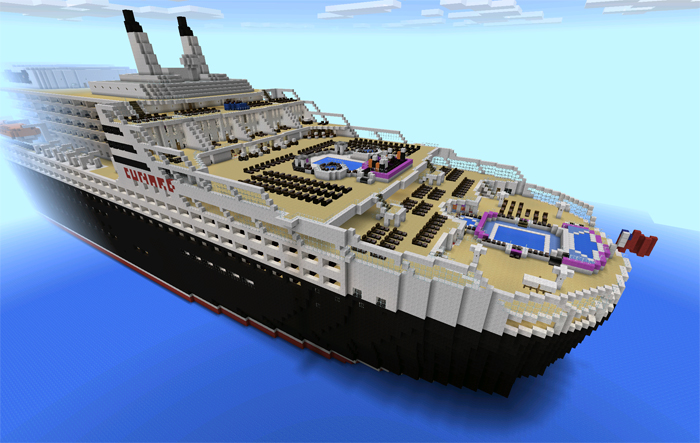 adventure maps for minecraft pe with Rms Queen Mary 2 Pe on A Modern City V1 together with T5 Mapa Hora De Aventura Minecraft Pe moreover Details together with 7 Verschiedene Skin S Fur Minecraft Mensch in addition Redstone Powered Modern House.
