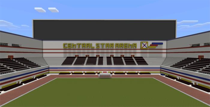 Central Star Arena Creation Minecraft Pe Maps