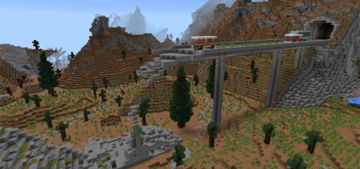 DisneyPark Theme Park Creation Minecraft PE Maps - Last of us map minecraft