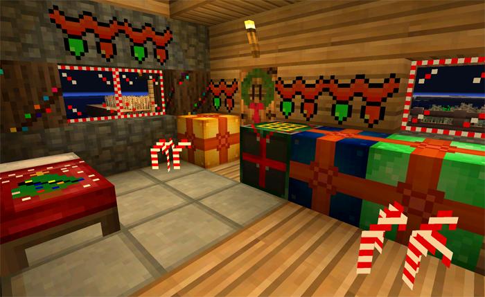 Minecraft Christmas.Fletchercraft Christmas 16 16 Shaders Minecraft Pe