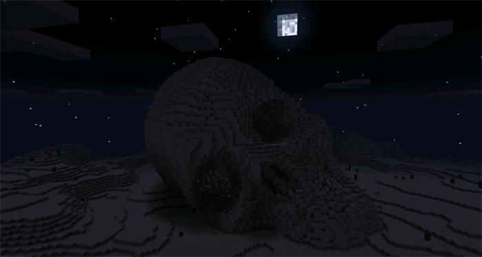 Карта Ancient Human Skull