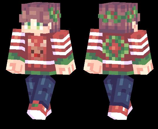 minecraft sweater skin
