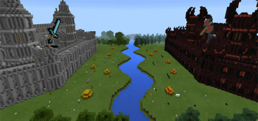 Medieval TNT Wars PvP Minecraft PE Maps - Minecraft last of us map