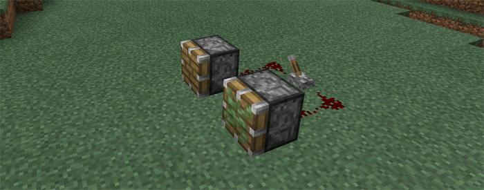 Pocket Piston (Redstone +) Mod   Minecraft PE Mods & Addons