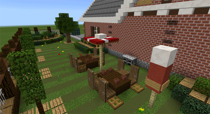 lawn mower minecraft