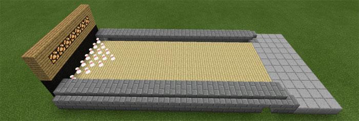 Bowling Mod Minecraft PE Mods Addons - Bowling map para minecraft 1 10