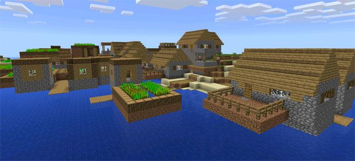double village island