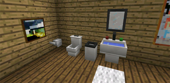 More Furniture Mod Minecraft PE Mods amp Addons