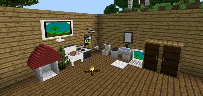More Furniture Mod Minecraft Pe Mods Addons