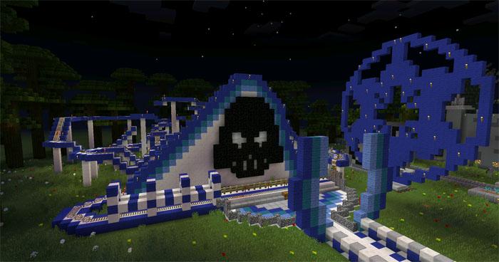 Star Wars Theme Park [Creation] | Minecraft PE Maps