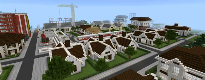 Tn City Creation Minecraft Pe Maps