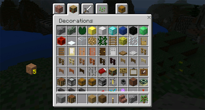 Windows Edition UI Addon Minecraft PE Mods Addons - Skins para minecraft windows 10 edition beta