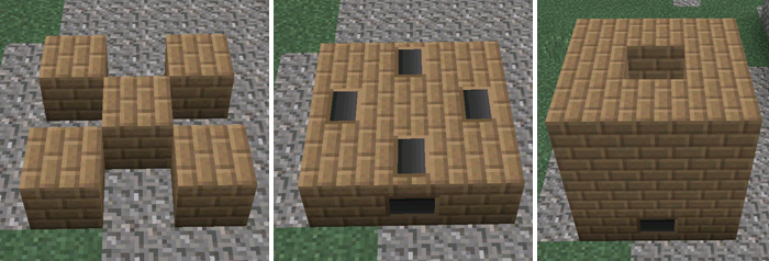 minecraft how to make a coke oven