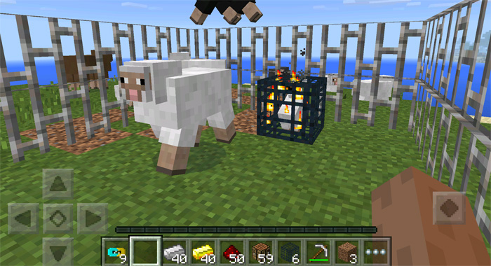 how to make a minecraft mob spawner pe