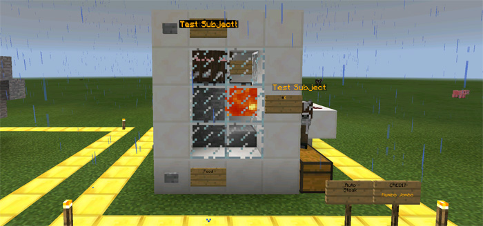 10 smart redstone creations redstone minecraft pe maps steak machine malvernweather Choice Image