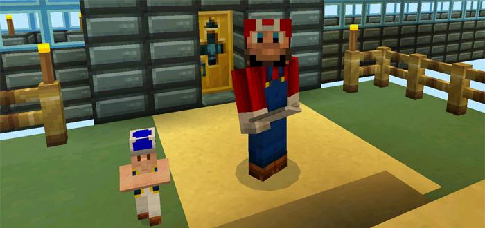 Mario 3D Land [Adventure] | Minecraft PE Maps