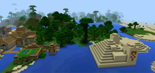 -114648: Jungle Temple & Village