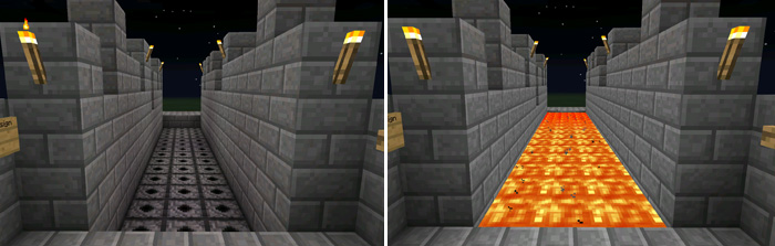 how to turn off a redstone torch in minecraft pe
