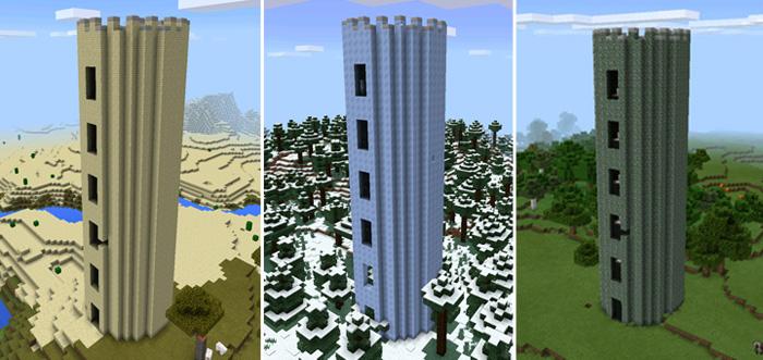 Battle Towers PE Mod | Minecraft PE Mods & Addons