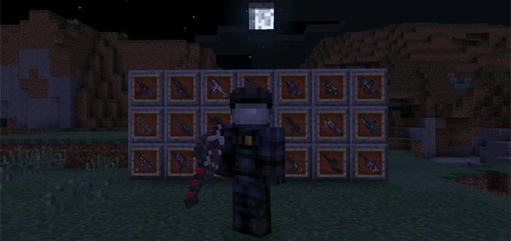 Black Ops 3 Weapons Mod (DesnoGuns Addon) | Minecraft PE