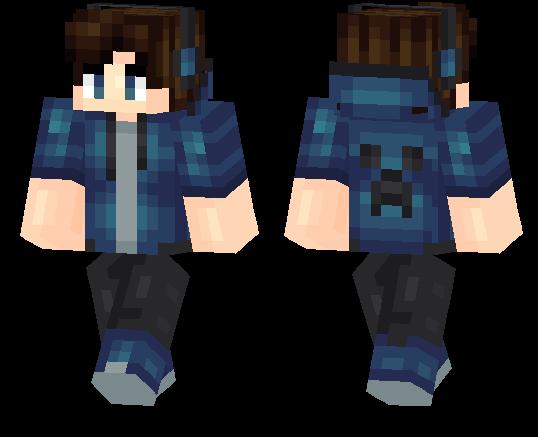 Creeper Boy Minecraft Pe Skins