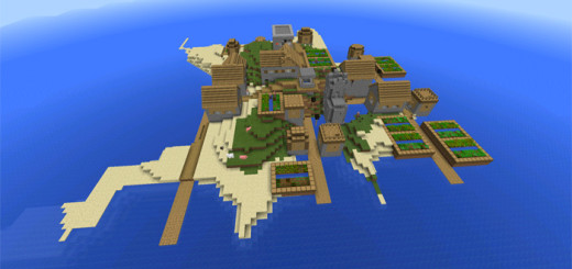 ibuild: Island Village With Blacksmith